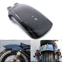 A Motorcycle Black Rear Fender Mudguard For Yamaha Suzuki DR650 Honda CB 500F