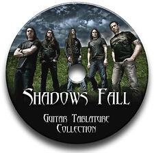 SHADOWS FALL HEAVY METAL ROCK GUITAR TAB TABLATURE SONG BOOK SOFTWARE CD