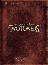The Lord of the Rings: The Two Towers (Dvd, 2003, 4-Disc Set, Platinum Series.