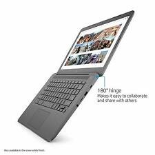 "HP Chromebook 14"" FHD Intel 2.4GHz 4GB RAM 32GB SSD Webcam BT 180-degree Hinge"