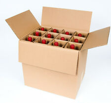 SS12 -12 Bottle Wine Shipping Box SpiritedShipper.com boxes UPS & FEDEX Approved