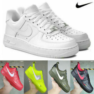 Men's Women's Air Force1 Low Top Trainers Sneakers Shoes Athleisure Outdoor UK