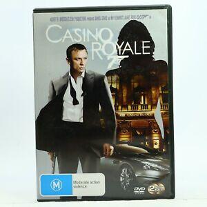 Casino Royale 2-Disc Set James Bond Daniel Craig Good Condition DVD Free Post