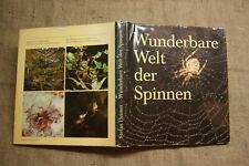 Fachbuch Wunderbare Welt der Spinnen, Spinnenkunde, Spinnennetze, Anatomie, 1988