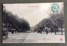 CPA. PARIS. 75 - Bois de Vincennes. La Porte Dorée. 1907. Une sortie du Bois.
