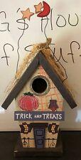 Halloween Bird House Wooden *