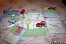 Sumersault Baby Boy's Nursery Accessories 6 Piece Set Mobile Red Blue Cars B7