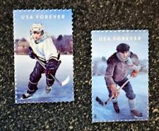 2017USA Forever - The History of Hockey - Set of 2 Singles  Mint