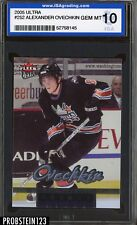 2005 Ultra #252 Alexander Ovechkin RC Rookie Capitals ISA 10