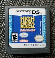 Nintendo DS High School Musical Makin' the Cut (Works, tested, GAME ONLY)