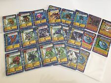 Digimon Series starter set  Cards Complete ST01/ST62