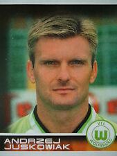 Panini 481 BL Fussball 2001 Andrzej Juskowiak VfL Wolfsburg