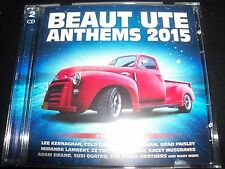 Beaut Ute Anthems 2015 Various 2 CD Keith Urban ZZ Top Wolfe Brothers & More