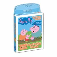 Peppa Pig Top Trumps Activity Pack 5 Great Card Games & Activities