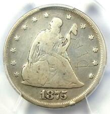 1875-P Twenty Cent Coin 20C - PCGS VG Details - Rare Date 1875 Coin!