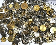 50 grams Vintage Steampunk Mixed Pocket/Clock Watch Parts Jewelry Craft