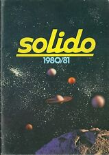 Catalogue SOLIDO 1980 jouet toy miniature cirque tonergam Age d'or militaria