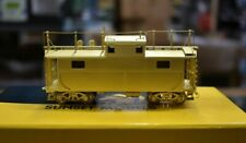 Lot 8-162 * HO Scale Sunset Models Brass PRR Caboose, Appears complete w/box