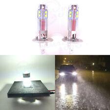 H1 CREE LED Fog Light Bulbs Conversion Kit Super Bright Premium 6000K White 55W