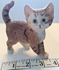 Figurine Orange Tabby Kitten, Walking