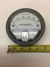 "Dwyer Instruments Magnehelic Pressure Gauge 0-3 H2O 1/8"" Connection"