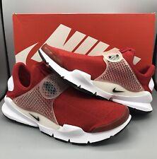 Nike Men's Sock Dart Gym Running Shoe 819686 601 Red/Black/White Size 11