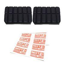 x2 Clutch Brake Pedal Pad Fit Datsun Nissan Sunny 1200 B110 KB110 210 310 120Y