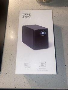 Brand New Miroir Surge Series SYNQ 720p DLP Mini Projector - Black