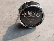 VINTAGE AIRGUIDE MARINE OUTBOARD TACHOMETER (2-stroke)  #1023
