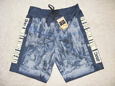 Walking Dead AMC TV Show Zombie Swim Trunks Board Shorts Licensed Size XL NEW