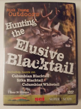 RICK YOUNG OUTDOORS - HUNTING THE ELUSIVE BLACKTAIL DVD BRAND NEW