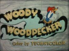 16mm Film Cartoon - WOODY WOODPECKER - Bunco Busters 1955 *SEE VIDEO*