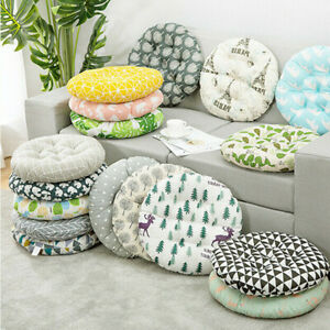 Seat Pad Kitchen Padded Garden Round Booster Washable Dining Room Chair.Cushions