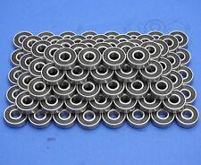 100 Stück 608 2RS (8x22x7 mm) Kugellager, Miniaturkugellager
