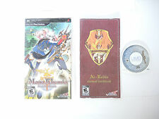 MANA KHEMIA STUDENT ALLIANCE complete in box with manual Sony PSP game