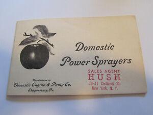 Domestic Gas Engine & Pump Co. Power Sprayer Catalog