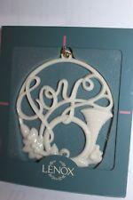 Lenox Ornament - Holiday Wishes - Joy - Horn