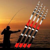 Fishing Rod Portable Telescopic Spinning Pole Carbon Fiber Travel Sea Ultralight