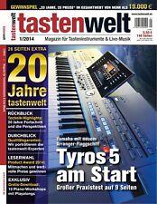 Yamaha Tyros 5 Praxistest / 10 Piano Workshops mit Playalong zum Download