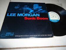 LEE MORGAN --SONIC BOOM -RARE JAZZ,BLUE NOTE STEREO , GXK 8171 JAPAN PRESS