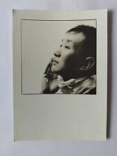 1997 Royal Albert Hall Photo Exhibition B&W Postcard Melvyn Tan by Sheila Rock