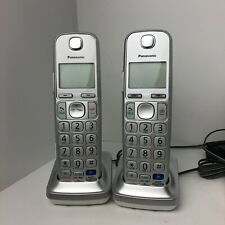 Panasonic KX-TGE260 Link-to-Cell Bluetooth Cordless Phone System Lot (4) Phones