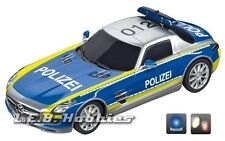 Carrera Digital 132 Mercedes-SLS AMG, Polizei slot car 30793