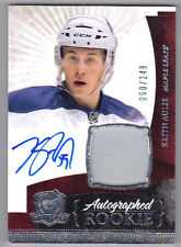 10-11 Keith Aulie The Cup Auto Rookie Card RC #126 Jersey Patch 060/249 Mint