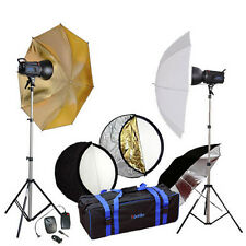 Studioset 500 WS Studioblitzanlage Fotostudio-Blitz Studioblitzleuchte Set
