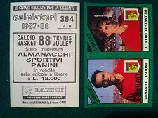 CALCIATORI 1987-88 87-1988 n 364 CATANZARO SERIE B - Figurine Panini con velina