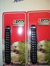 LOT of TWO AZOO DIGITAL AQUARIUM THERMOMETER