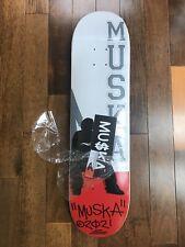 Signed Chad Muska Shortys 8.0 Red Silhouette Skateboard Deck. Not Santa Cruz.