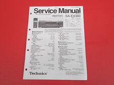 Technics SA-EX300 Receiver org. Service Anleitung Manual