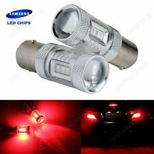 2x 1156 BA15S R10W 382 SAMSUNG Red LED Bulb Indicator Reverse Stop Tail Light